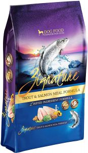 Zignature Trout & Salmon Meal Limited Ingredient Formula Grain Free Dry Dog Food