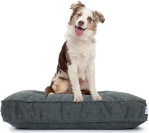 Eluxury Stain Repellant Pillow Dog Bed