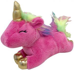 Foufit Unicorn Squeaky Plush Dog Toy