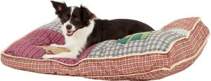 Aspen Pet Quilted Novelty Pillow Dog Bed