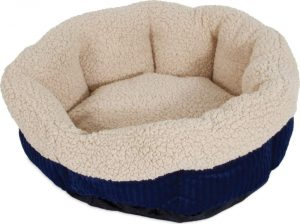 Aspen Pet Self Warming Bolster Cat & Dog Bed