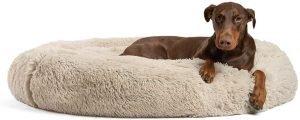 Best Friends By Sheri Original Calming Shag Vegan Fur Dog Bed