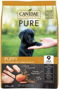 Canidae Grain Free Pure Puppy Real Chicken, Lentil & Whole Egg Recipe Dry Dog Food
