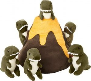 Frisco Hide And Seek Plush Volcano Puzzle Toy