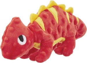 Frisco Squeakybeasties Cocoa The Chameleon Dog Toy