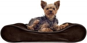Furhaven Nap Deluxe Memory Foam Pillow Dog Bed