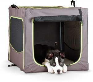 K&h Pet Products Classy Go 3 Door Collapsible Soft Sided Dog Crate