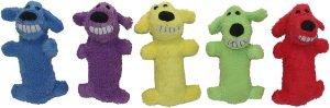 Multipet Loofa Dog The Original Squeaky Plush Dog Toy