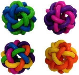 Multipet Nobbly Wobbly Ball Dog Toy