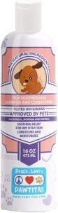 Pawtitas Organic Lavender & Chamomile Oatmeal Dog Shampoo & Conditioner