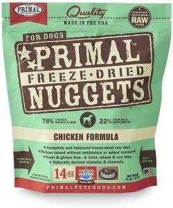 Primal Chicken Formula Nuggets Grain Free Puppy Food