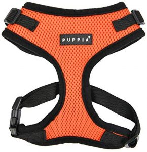Puppia Ritefit Polyester Back Clip Dog Harness