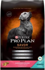 Purina Pro Plan Adult Shredded Blend Lamb & Rice Formula Dry Dog Food