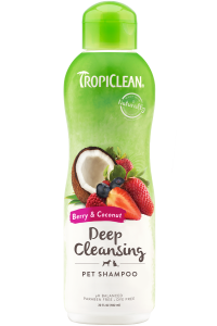 Tropiclean Deep Cleaning Berry & Coconut Dog & Cat Shampoo