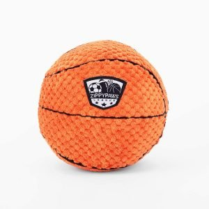 Zippypaws Sportsballz Basketball Dog Toy