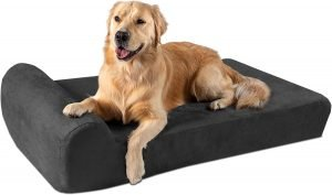 "Big Barker 7"" Headrest Orthopedic Pillow Dog Bed"