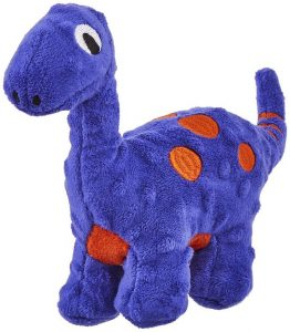 Frisco Squeakybeasties Squeakosaurus Dog Toy