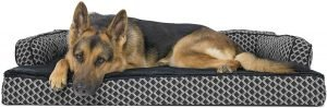 Furhaven Plush & Decor Comfy Couch Dog Bed