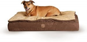 K&h Pet Products Feather Top Pillow Dog Bed
