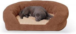 K&h Pet Products Orthopedic Bolster Cat & Dog Bed