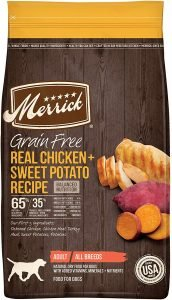 Merrick Real Chicken & Sweet Potato Dog Food