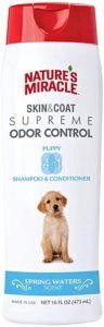 Nature's Miracle Supreme Odor Control Natural Puppy Shampoo And Conditioner