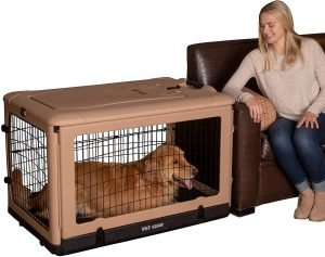 Pet Gear The Other Door Double Door Collapsible Wire Dog Crate