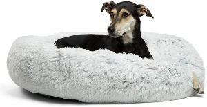 Best Friends By Sheri The Original Calming Shag Fur Donut Cuddler Dog Bed