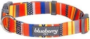 Blueberry Pets Nautical Prints Dog Collar