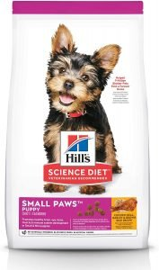Hill's Science Diet Puppy Small Paws Chicken Meal, Barley & Brown Rice Dry Dog Food