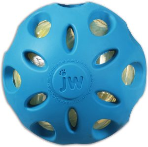 Jw Pet Crackle Heads Ball Toy