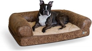 K&h Pet Products Bomber Bolster Dog Bed
