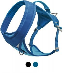 Kurgo Go Tech Adventure Nylon Reflective Dual Clip Dog Harness