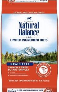 Natural Balance L.i.d. Limited Ingredient Diets Salmon & Sweet Potato Formula Grain Free Dry Dog Food