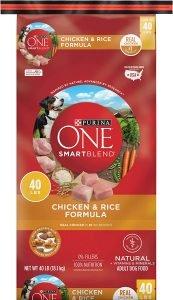 Purina One Smartblend Chicken & Rice Adult Formula Dry Food Dog