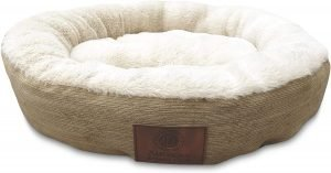 American Kennel Club Casablanca Bolster Cat & Dog Bed