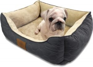American Kennel Club Circle Stitch Orthopedic Bolster Cat & Dog Bed