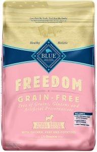 Blue Buffalo Freedom Small Breed Puppy Chicken Recipe Grain Free Dry Dog Food