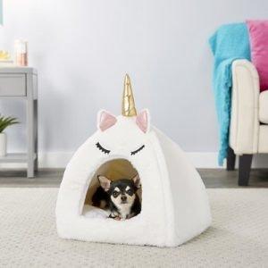 Frisco Novelty Unicorn Covered Dog Bed