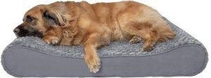 Furhaven Nap Ultra Plush Orthopedic Bolster Dog Bed