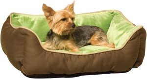 K&h Pet Products Self Warming Lounger Bolster Dog Bed