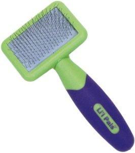 Li'l Pals Coated Tips Cat Slicker Brush