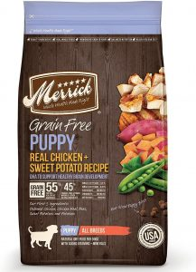 Merrick Grain Free Puppy Chicken & Sweet Potato Recipe Dry Dog Food