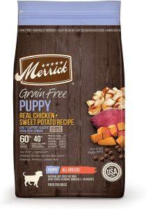 Merrick Grain Free Puppy Chicken & Sweet Potato Recipe Dry Dog Food
