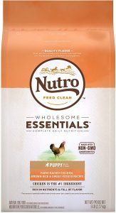 Nutro Wholesome Essentials Puppy Farm Raised Chicken, Brown Rice & Sweet Potato Recipe Dry Dog Food