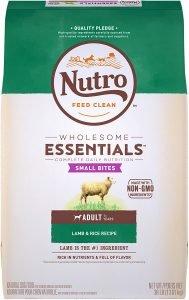 Nutro Wholesome Essentials Small Bites Adult Lamb & Rice Recipe Dry Dog Food