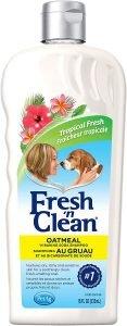 Petag Fresh 'n Clean Tropical Fresh 2 In 1 Oatmeal Dog Shampoo & Conditioner