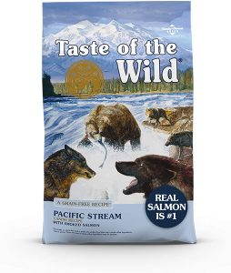 Taste Of The Wild Pacific Stream Grain Free Dry Dog Food