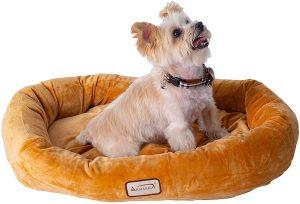 Armarkat Oval Bolster Cat & Dog Bed