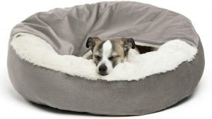 Best Friends By Sheri Cozy Cuddler Covered Cat & Dog Bed